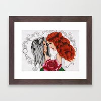 Closer.. Framed Art Print