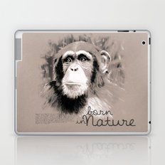 Chimpanzee (BornInNature) Laptop & iPad Skin
