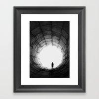 Insider Framed Art Print
