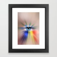 EYE AM YOU Framed Art Print