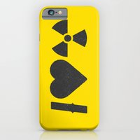 iPhone & iPod Case featuring I Love Radiation by Chris Kitzmiller