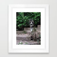Hey There :) Framed Art Print