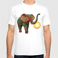 Elephant's Dream Mens Fitted Tee White SMALL