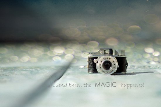 ...and then, the MAGIC happened... Art Print