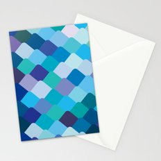 Blue Scales Stationery Cards