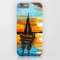 Sunset Sail iPhone 6 Slim Case