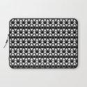 Black & White Triangles Laptop Sleeve