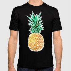 Pineapple SMALL Mens Fitted Tee Black