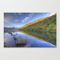 Craftnant Lake Canvas Print