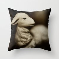 Tom Feiler Lamb Throw Pillow