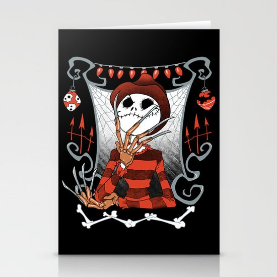 Nightmare King Stationery Card