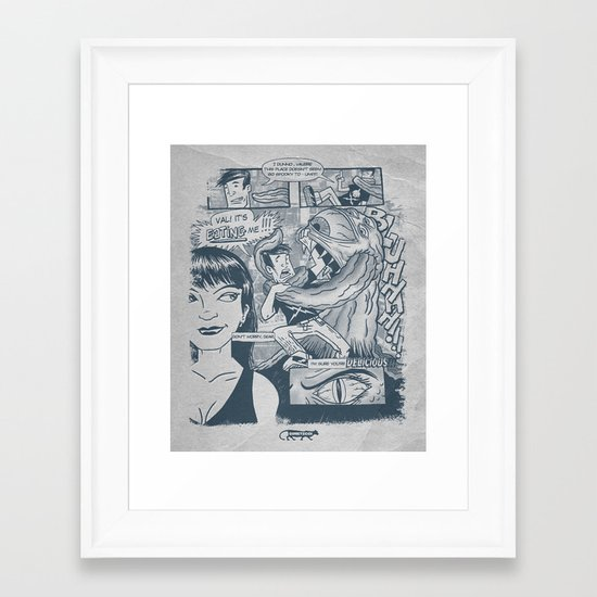 From the pages of... Framed Art Print