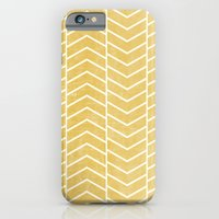 Yellow Chevron iPhone 6 Slim Case