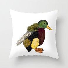 Bumbleduck Throw Pillow