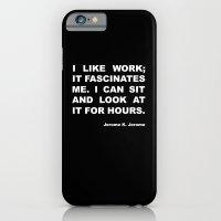 On work iPhone 6 Slim Case