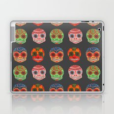 Watercolor Dia de los Muertos Skulls  Laptop & iPad Skin