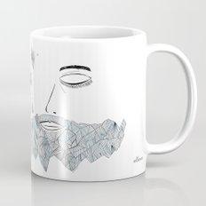 Geometric beard Mug