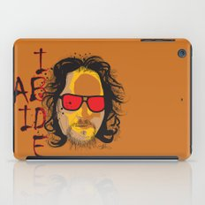 The Dude - Big Lebowski INK iPad Case