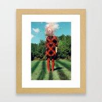 Oh, Dear Framed Art Print