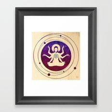 Shiva Teriyaki Framed Art Print