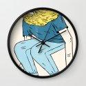 Skate Beard Wall Clock