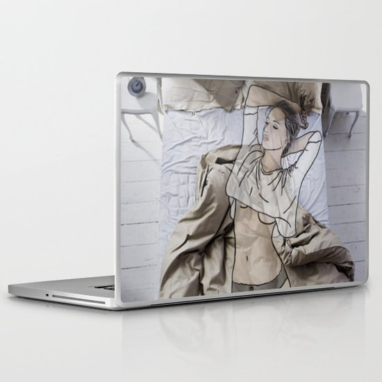 A day in bed Laptop & iPad Skin