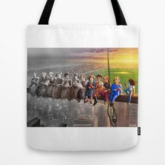 Feminism At Work Tote Bag