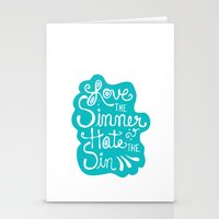 Love the Sinner Stationery Cards