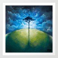 Treelogy 1 Art Print