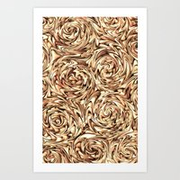 Liquid Gold - for iphone Art Print