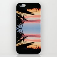 REVERSED SUMMER SHADOWS iPhone & iPod Skin