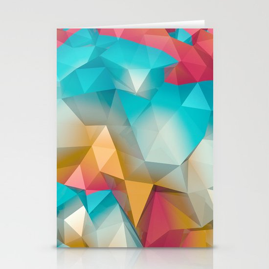 Land Sphere Stationery Card