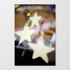 Christmas Stars Canvas Print