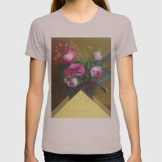 Flower Still Life #1 Womens Fitted Tee Cinder SMALL