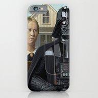 iPhone & iPod Case featuring Darth Vader In American … by Luigi Tarini