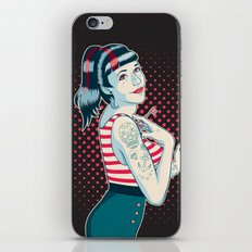 Cross My Heart iPhone & iPod Skin
