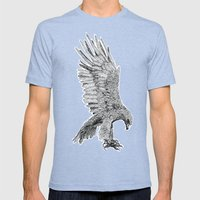 Eagle  Mens Fitted Tee Tri-Blue SMALL