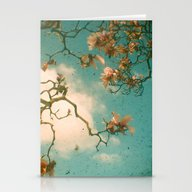 Stationery Cards featuring Magnolia Falls by Cassia Beck