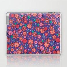 Lady Bug Flowers Laptop & iPad Skin