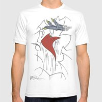 Heart & Hand Mens Fitted Tee White SMALL