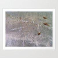 Sandy Waves Art Print