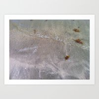 Sandy Waves Art Print