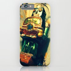 Vintage Christmas Robot Slim Case iPhone 6s