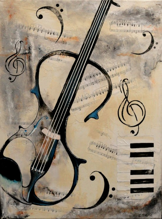 Electric Violin Art Print