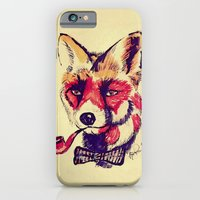 Vintage Fox iPhone 6 Slim Case