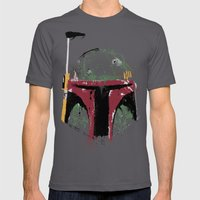 Boba Mens Fitted Tee Asphalt SMALL