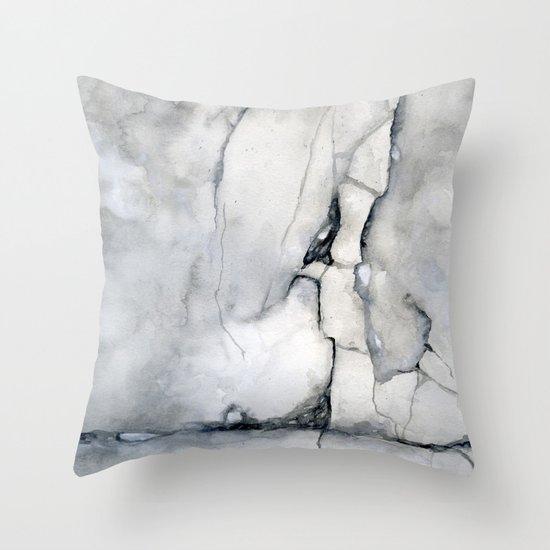 Walk On Throw Pillow