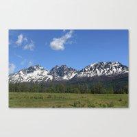 Pioneer Peak Canvas Print