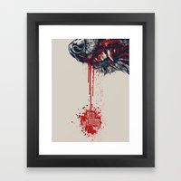 Red Wedding Game Of Thro… Framed Art Print