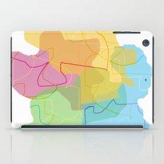 color shadows iPad Case